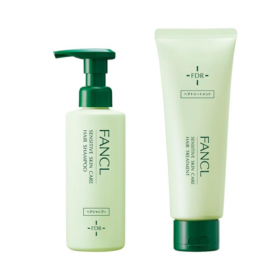 FANCL(ファンケル)公式 乾燥敏感肌ケア シャンプー&トリートメントセット